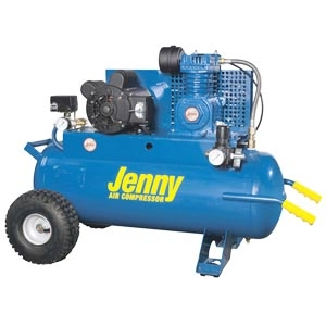 Jenny Wheeled Portable Air Compressor Repair Parts